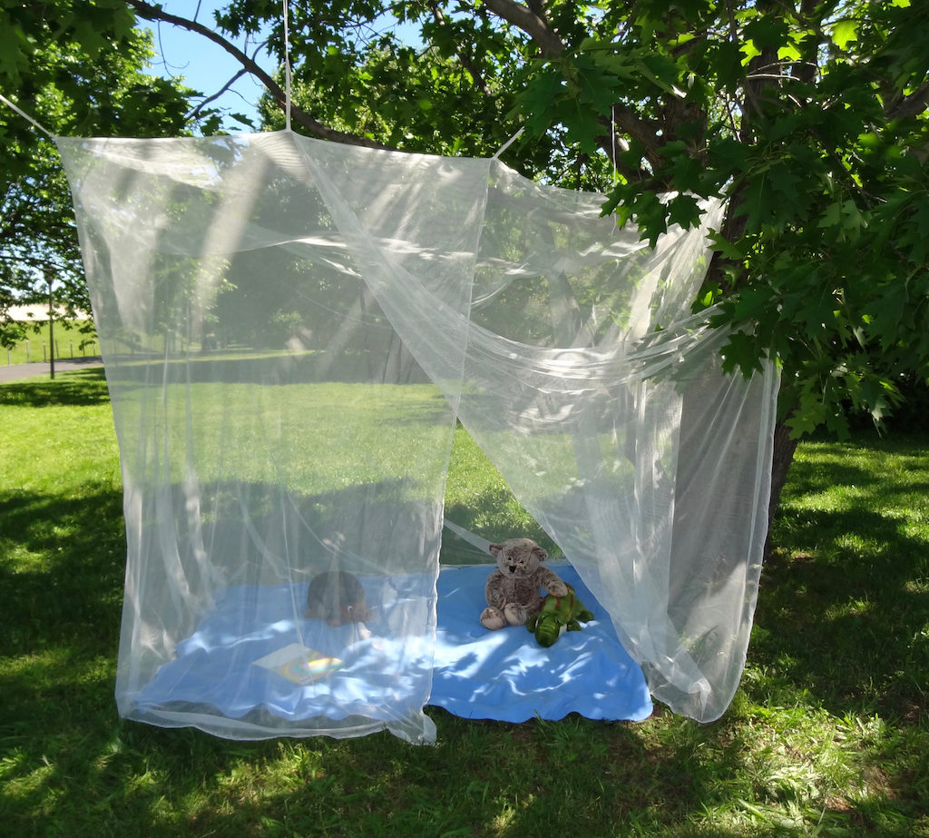 Queen Double Single Bed Size Rectangular Mosquito Net
